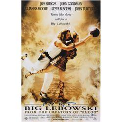 "Jeff Bridges Signed ""The Big Lebowski"" 12x18 Poster (Beckett COA)"