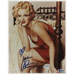 "Drew Barrymore Signed 8x10 Photo Inscribed ""Love"" (Beckett Hologram)"