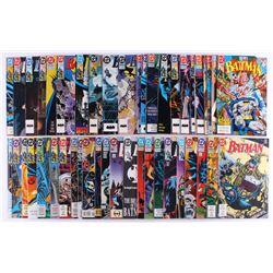 "Lot of (45) ""Batman"" Detective Comics Comic Books"