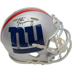 Eli Manning Signed New York Giants AMP Speed Mini Helmet (Fanatics Hologram)