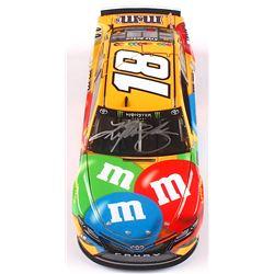 Kyle Busch Signed NASCAR #18 MM's 2019 Camry - 1:24 Premium Action Diecast Car (PA COA)
