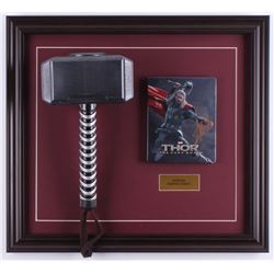 "Stan Lee Signed ""Thor"" 18.5x20.5 Custom Framed DVD Cover Display (PSA COA)"