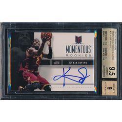 2012-13 Momentum Momentous Rookie Autographs #19 Kyrie Irving RC (BGS 9.5)