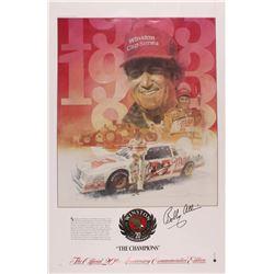 Bobby Allison Signed NASCAR 24x36 Poster (JSA Hologram)