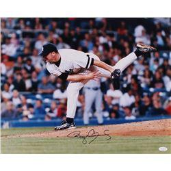 Roger Clemens Signed New York Yankees 16x20 Photo (JSA COA)