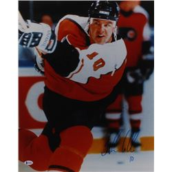 John LeClair Signed Philadelphia Flyers 16x20 Photo (Beckett COA)