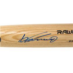 Vladimir Guerrero Signed Rawlings Pro Baseball Bat (JSA COA)