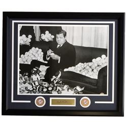 Babe Ruth New York Yankees 22x27 Custom Framed Photo Display with Engraved Signature