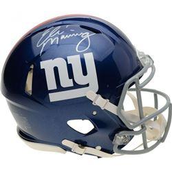 Eli Manning Signed New York Giants Full-Size Authentic On-Field Speed Helmet (Fanatics Hologram)