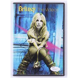 "Britney Spears Signed ""Britney: The Videos"" DVD Case (JSA COA)"