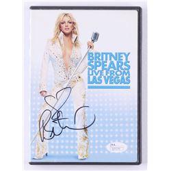 "Britney Spears Signed ""Britney Spears Live from Las Vegas"" DVD Case (JSA COA)"