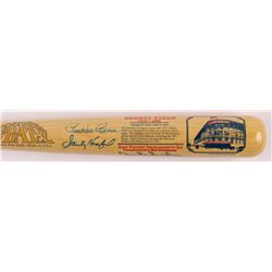 """Brooklyn Dodgers HOF'ers """"Ebbets Field"""" Cooperstown Commemorative Baseball Bat Signed by (4) With Sa"""
