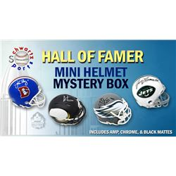 Schwartz Sports Football Hall of Famer Signed Mini Helmet Mystery Box - Series 5 (Limited to 100)
