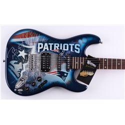 Tom Brady Signed LE New England Patriots Electric Guitar (Steiner COA  TriStar Hologram)