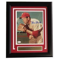 Robin Roberts Signed Philadelphia Phillies 8x10 Custom Framed Photo Display (JSA COA)
