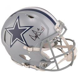 Dak Prescott Signed Dallas Cowboys Full-Size Authentic On-Field Speed Helmet (Fanatics Hologram)