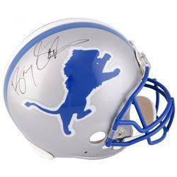 Barry Sanders Signed Detroit Lions Full-Size Authentic On-Field Helmet (Fanatics Hologram)