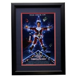 """Chevy Chase """"National Lampoon's Christmas Vacation"""" 17x24 Custom Framed Photo Display"""