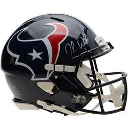 Deshaun Watson Signed Houston Texans Full-Size Authentic On-Field Speed Helmet (Fanatics Hologram)