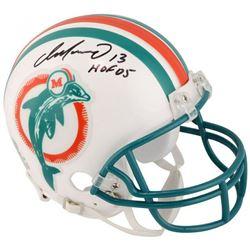 "Dan Marino Signed Miami Dolphins Mini-Helmet Inscribed ""HOF '05"" (Fanatics Hologram)"