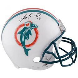 Dan Marino Signed Miami Dolphins Full-Size Authentic On-Field Helmet (Fanatics Hologram)