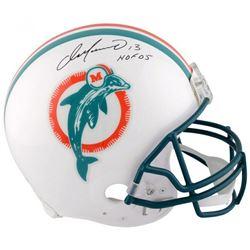 "Dan Marino Signed Miami Dolphins Full-Size Authentic On-Field Helmet Inscribed ""HOF '05"" (Fanatics H"