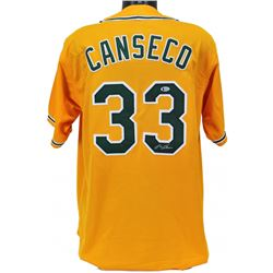Jose Canseco Signed Jersey (Beckett COA)