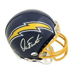 Dan Fouts Signed San Diego Chargers Mini-Helmet (Fanatics Hologram)