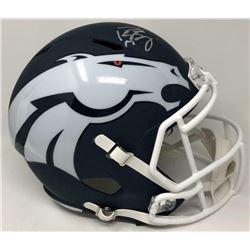 Peyton Manning Signed Denver Broncos AMP Full-Size Speed Helmet (Fanatics Hologram)