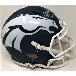 Peyton Manning Signed Denver Broncos AMP Full-Size Authentic On-Field Speed Helmet (Fanatics Hologra