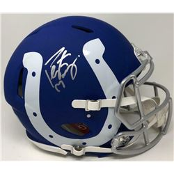 Peyton Manning Signed Indianapolis Colts AMP Full-Size Authentic On-Field Speed Helmet (Fanatics Hol