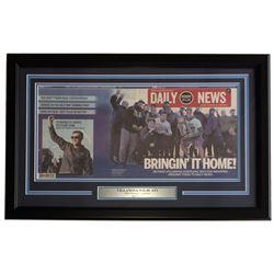 Villanova Wildcats 18x27 Custom Framed 2016 Daily NCAA National Championship Philadelphia Daily News