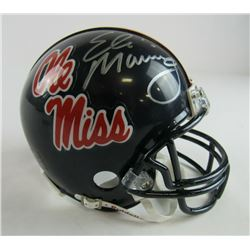 Eli Manning Signed Ole Miss Rebels Mini Helmet (Steiner COA)