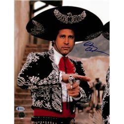 "Chevy Chase Signed ""Three Amigos"" 11x14 Photo (Beckett COA  Chase Hologram)"