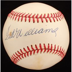 Ted Williams Signed ONL Baseball (JSA LOA)