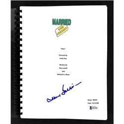 """David Garrison signed """"Married...with Children"""" Pilot Episode Script (Beckett COA)"""
