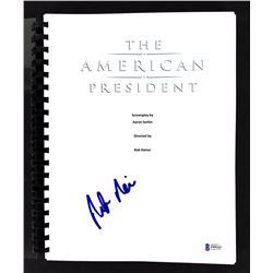 "Rob Reiner Signed ""The American President"" Movie Script (Beckett COA)"