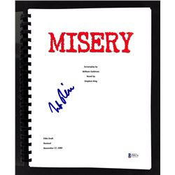 "Rob Reiner Signed ""Misery"" Movie Script (Beckett COA)"