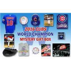 Schwartz Sports 2016 Chicago Cubs World Champs Mystery Autograph Gift Box – Series 8 (Limited to 1