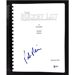 "Rob Reiner Signed ""The Bucket List"" Movie Script (Beckett COA)"