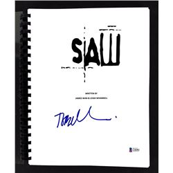 "Tobin Bell Signed ""Saw"" Movie Script (Beckett COA)"