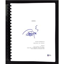 """Tommy Chong Signed """"Zootopia"""" Movie Script (Beckett COA)"""