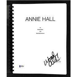 """Woody Allen Signed """"Annie Hall"""" Movie Script (Beckett COA)"""