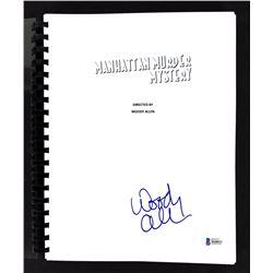 "Woody Allen Signed ""Manhattan Murder Mystery"" Movie Script (Beckett COA)"