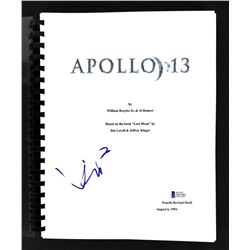 "Kevin Bacon Signed ""Apollo 13"" Movie Script (Beckett COA)"