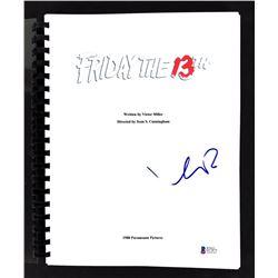 "Kevin Bacon Signed ""Friday the 13th"" Movie Script (Beckett COA)"