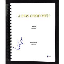 "Kevin Bacon Signed ""A Few Good Men"" Movie Script (Beckett COA)"