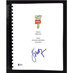 """Laurie Metcalf Signed """"Toy Story 3"""" Movie Script (Beckett COA)"""