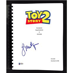 """Laurie Metcalf Signed """"Toy Story 2"""" Movie Script (Beckett COA)"""