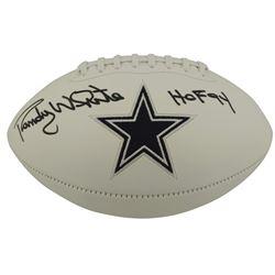 "Randy White Signed Dallas Cowboys Logo Football Inscribed ""HOF 94"" (Beckett COA)"